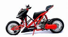 Modifikasi Motor Matic Beat by Skuter Toros Matic Motor Modification Photos