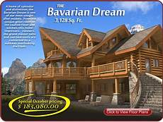 bavarian style house plans monthly log home newsletter october 2010