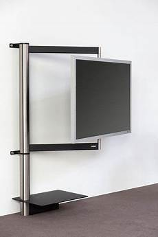 wand tv halterung tv mount stand swivel function for view from any