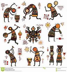 Afrikanische Muster Malvorlagen Gratis Afrikanische Ethnische Muster Vektor Abbildung
