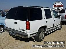 where to buy car manuals 1997 chevrolet tahoe windshield wipe control used parts 1997 chevrolet tahoe 5 7l 4x4 subway truck parts inc auto recycling since 1923
