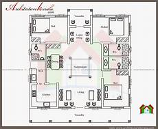 kerala model house plans small plan 3d home nalukettu style kerala house with nadumuttam indian