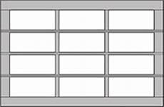 9 Inch Garage Doors by Model 8800 Distribudoors