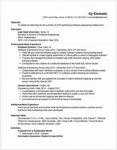 10 engineering student resume template penn working papers