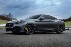infiniti q60 black s infiniti q60 project black s will be wearing custom made pirelli tires drivers magazine