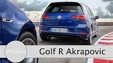 2017 Vw Golf R Akrapovic Test Performance Paket