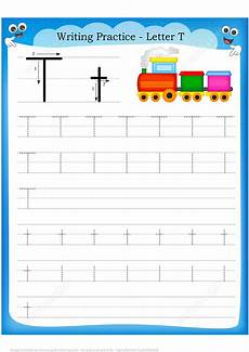 writing letter t worksheets for kindergarten 23551 letter t is for handwriting practice worksheet free printable puzzle