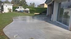 Terrasse Aus Beton - terrasse en beton ma terrasse