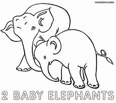 elephant baby coloring pages coloring pages to