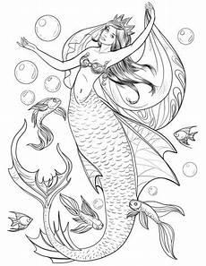 Ausmalbilder Meerjungfrau Pferd Mermaid Coloring Page In 2020 Mermaid Coloring Pages
