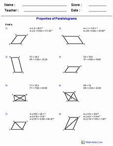categorizing polygons worksheet 7963 geometry worksheets quadrilaterals and polygons worksheets
