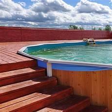 piscine hors semi enterree piscine semi enterr 233 e une alternative tendance mais 224