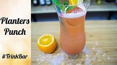 planters punch cocktail selber machen rezept
