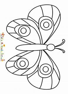 un papillon facile 224 colorier