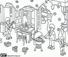 malvorlagen ausmalbilder playmobil familie hauser