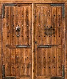 Porte En Bois Massif Ancien Ineas Fr