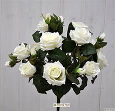 costo mazzo di fiori bouquet di fiori artificiali di rosa tea bianco