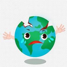 Bumi Menangis Dalam Bencana Gempa Bumi Png Grafik Gambar