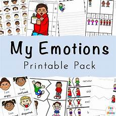 feelings activities emotions worksheets for kids fun with
