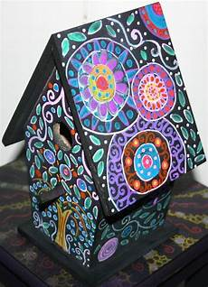 funky home decor painted birdhouses 29 95