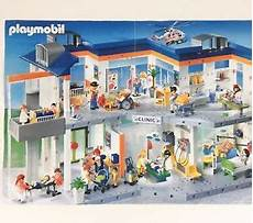 Playmobil Ausmalbild Krankenhaus Playmobil 4404 Hospital Retired Nearly Complete W Figures