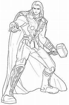 Ausmalbilder Superhelden Thor Ausmalbilder Thor 192 Malvorlage Thor