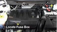 08 Jeep Wrangler Fuse Box Location by Interior Fuse Box Location 2011 2017 Jeep Compass 2011