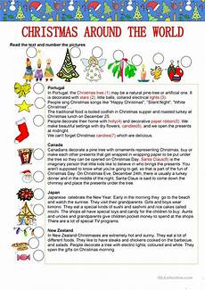 christmas around the world worksheet free esl printable worksheets made by teachers