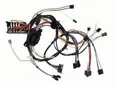 1968 Camaro Dash Wiring Harness M T With