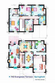 the simpsons house floor plan 17 best images about famous floorplans on pinterest