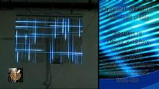 digital led glass panels demo and explanation