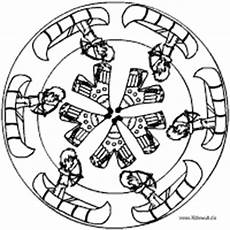 Ausmalbild Indianer Mandala Indianer Mandala Im Kidsweb De