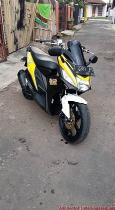 Modifikasi Yamaha Mio M3 by Modifikasi Yamaha Mio M3 125 Jadi Maxi Scooter Ala