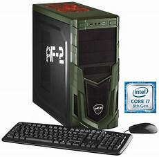 billige computer hyrican military gaming 5687 i7 8700 16gb 1tb 240gb ssd