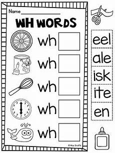 wh digraph worksheets wh worksheets activities no prep by miss giraffe tpt