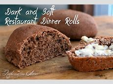 dark and soft restaurant dinner rolls_image