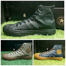 Sepatu Converse Pria Cowok Kulit Original Asli Ori Terbaru