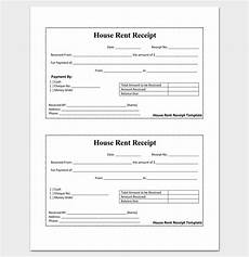 house rent receipt rent receipt template 9 forms for word doc pdf format