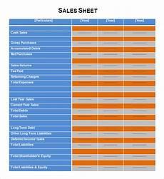free 7 sales sheet sles in google docs google sheets