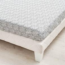 drap housse satin de coton drap housse satin de coton 140 cm gilda gris linge de lit eminza