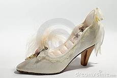 wedding rings and high heels royalty free stock photos
