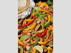 Easy Chicken Fajitas {Oven Baked on Sheet Pan!}   Cooking