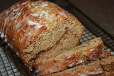 super moist banana bread recipe with a cinnamon surprise old world garden farms
