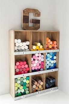 craft room monogram craft paint storage craft storage