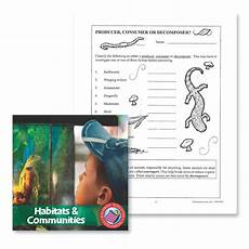 plants as producers worksheets 13617 habitats communities producer consumer or decomposer worksheet grades 4 to 6 ebook
