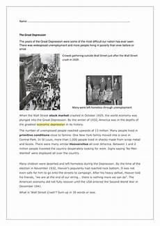 great depression worksheets how lived pdf version by mesquitequail us teacher