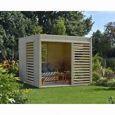 abri jardin moderne abri de jardin arty en bois 6 55 m2