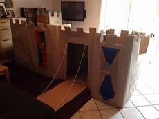 malvorlagen ritterburg hack ritterburg aus kartons mit burgzinnen t 252 rmen und