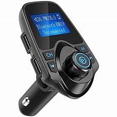 nulaxy bluetooth car fm transmitter audio adapter receiver