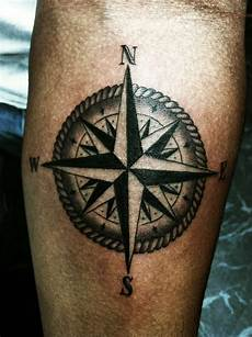 compass tattoos page 11